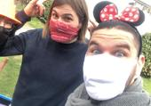 Puzzle Mickey et Minnie/ Animagique