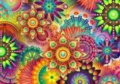 Puzzle Mandalas toutes les couleurs