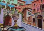 Puzzle La fontaine de Saint-Paul de Vence