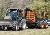 Puzzle Tracteur +remorque forestière