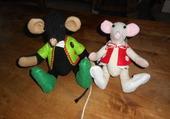 Puzzle Mme et Mr souriceau