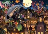 Puzzle Pokémon Happy Halloween