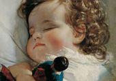 Puzzle Un enfant qui dort