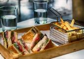 Puzzle Club sandwich