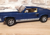 Puzzle FORD MUSTANG (lego)