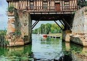 Puzzle Vieux moulin en Normandie