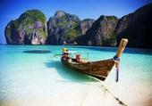 Puzzle Barque en Thaîlande