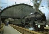 Puzzle Départ d'un vieux train vapeur