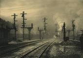 Puzzle Loco vapeur gare de Namur 1938