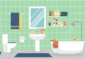 Puzzle salle de bain