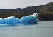 Puzzle Iceberg sur le lac d'Argentina (Patagonie)