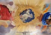 Puzzle Plafond central du Palais du vent ( Dali )
