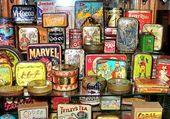 Puzzle old american shop
