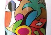 Puzzle céramique d'art
