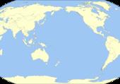 Puzzle planisphère centré sur l'Asie
