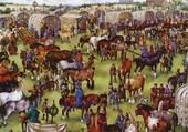 Puzzle Foire au Moyen Age