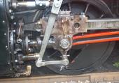 Puzzle Embiellage d'une loco vapeur à Mariembourg (B)