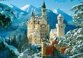 Puzzle chateau paysages nature baviere