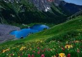 Puzzle joli montagne