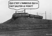 Puzzle Humour ferroviaire