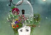 Puzzle la cage aux oiseaux