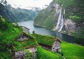 Puzzle cascade de norvège