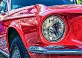 Puzzle VOITURE MUSTANG