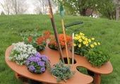 Puzzle La palette du jardinier