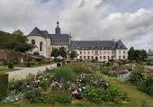 Puzzle L'Abbaye et les Jardins de Valloires en Baie de Somme