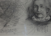 Puzzle Portrait d'Einstein