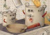Puzzle cuisine en délire